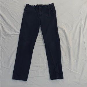 J.Crew Slim Fit Navy Khakis Size 29